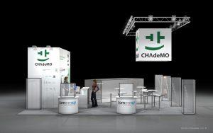 Návrh stánku Chademo EVS32