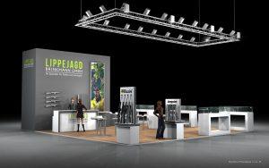 Vizualizace expozice Lippejagd výstava IWA