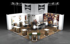 Návrh stánku Miko Kaffee Euvend