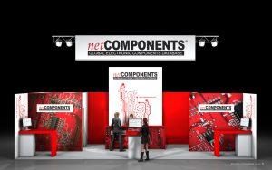 Vizualizace expozice Net Components Electronica