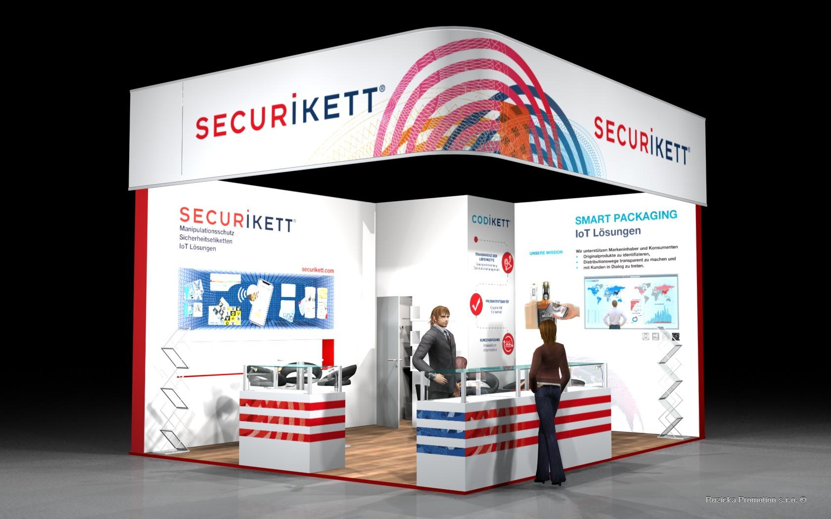 Vizualizace Securikett Fachpack